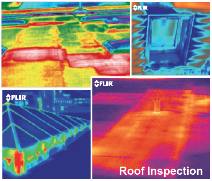 Roof Thermal Scan Photo